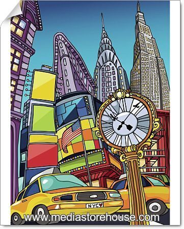 Love Manhattan. An Enchanting View Of Manhattan Landmarks